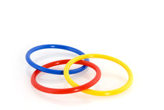 Magic rings. For the illusionist or the magician royalty free stock image