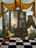 Magic room Royalty Free Stock Image
