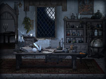 Magic room Stock Images