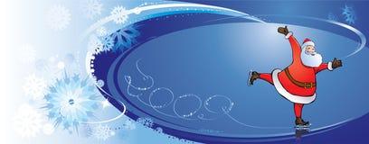Magic Santa Claus. Royalty Free Stock Images