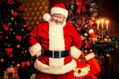 Magic santa Stock Images