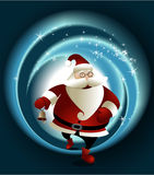 Magic Santa Claus Stock Photography