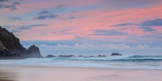 Magic seascape at sunset. Royalty Free Stock Photos