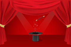 Magic show Royalty Free Stock Images