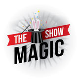 The magic show Stock Photos
