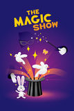 The magic show Royalty Free Stock Image