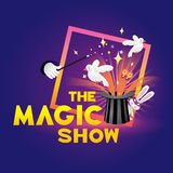 The magic show Stock Photography