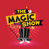 The magic show Royalty Free Stock Photo