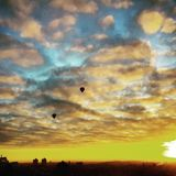 Magic in skies Royalty Free Stock Images