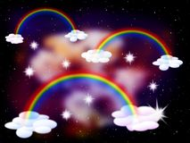 Magic sky Royalty Free Stock Image