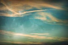 Magic sky Stock Photo