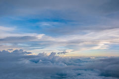 The magic sky like the heaven are  beautiful thing in nature. Royalty Free Stock Photos