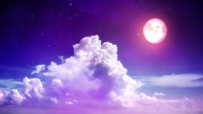 Magic sky stock video