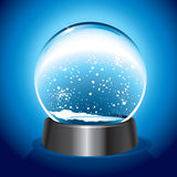 Magic Snow Dome Stock Photo