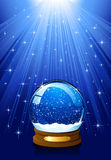 Magic Snow globe Royalty Free Stock Image