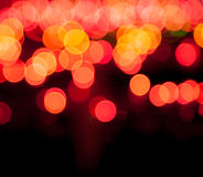 Magic sparkle, light dots and bokeh effect. Magic sparkle, light dots on black background with copy space.  bokeh effect. Use of blends Royalty Free Stock Photos