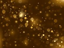 Magic sparkle, light dots; vector bokeh effect stock photos