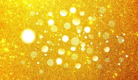 Magic sparkle, light dots, vector bokeh effect on glitter. background wallpaper. Many uses for advertising, book page, paintings, printing, mobile backgrounds royalty free illustration