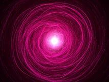 Magic sparkle swarm. Pink vortex version Stock Photos