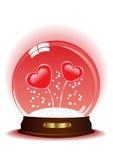 Magic sphere stock illustration