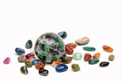 Magic sphere stock photos