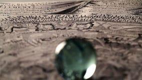 Magic sphere stock video