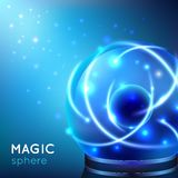 Magic Sphere Illustration Stock Photo