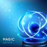 Magic Sphere Illustration Stock Photo