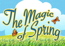 The magic of spring Stock Images