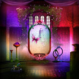 Magic Stage in colors Royalty Free Stock Photo