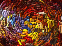 Magic of Stained Glass Royalty Free Stock Images