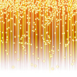 Magic star abstract background. Abstract Christmas New Year's celebratory background for the designer Stock Photo