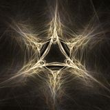 Magic star abstract fractal Royalty Free Stock Photography