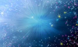 Magic star background Royalty Free Stock Image