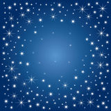 Magic Stars (illustration) Royalty Free Stock Images