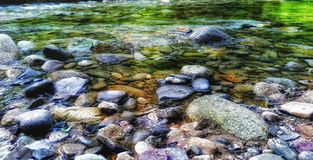 Magic stones. River stones, amazing colours Stock Images