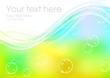 Magic summer background Royalty Free Stock Photography
