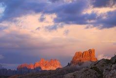 Magic Sunset Stock Photo