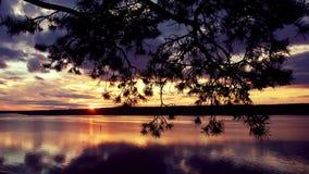 Magic sunset Stock Image