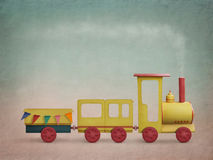 Magic Train Royalty Free Stock Photo
