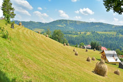 Magic Transylvanian village - Dumesti - Romania Royalty Free Stock Image