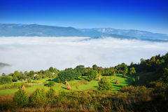 Magic Transylvanian village - Dumesti - Romania Stock Photo