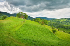 Magic Transylvanian village - Dumesti - Romania Royalty Free Stock Photography