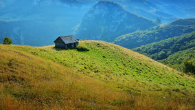 Magic Transylvanian village - Dumesti - Romania Stock Photos