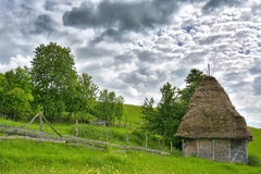 Magic Transylvanian village - Dumesti - Romania Stock Photos