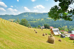 Magic Transylvanian village - Dumesti - Romania Royalty Free Stock Photos