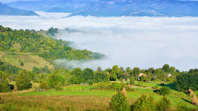 Magic Transylvanian village - Dumesti - Romania Royalty Free Stock Photography