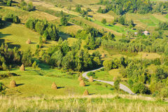 Magic Transylvanian village - Dumesti - Romania Royalty Free Stock Images
