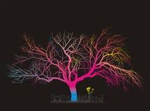 Magic Tree Stock Photo