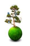 Magic Tree Stock Image